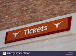 Ut Texas Football Stadium Seat Chart Tickets Sign At Darrell K Royal Longhorn Football Stadium At