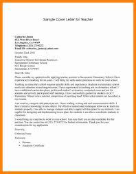 9 Teacher Cover Letter Examples Doctors Signature