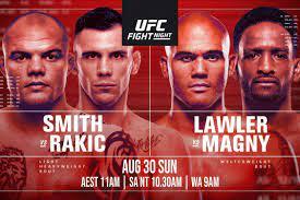 UFC Fight Night: Smith vs Rakic ...