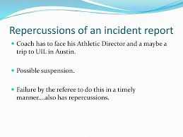 uil incident report welcome to taso dallas carlos ramirez and john o kane will be your