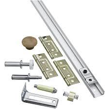 bifold door hardware lowes. national hardware 1-piece bifold closet door kit lowes a