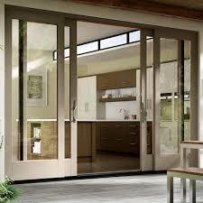 sliding patio doors wood vinyl fiberglass aluminum