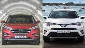 2016 Hyundai Tucson vs 2016 Toyota Rav4 - YouTube