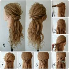 Coiffure Simple Et Rapide Cheveux Mi Long Coupe De Cheveux