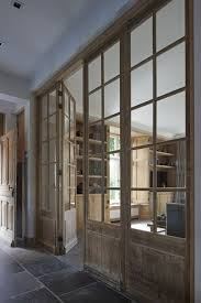 french doors from reclaimed wood for a rustic space
