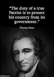 American Revolution Quotes Beauteous The Duty Of A True Patriot Is To Protect His Country From Donald