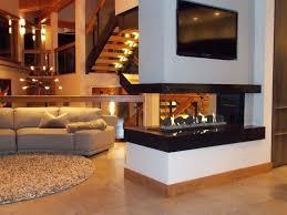 multi sided fireplace gas 3 sided fireplace multi sided ventless gas fireplace