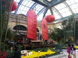 bellagio conservatory botanical gardens chinese new year