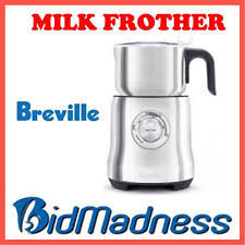 item 8 breville milk cafe frother milk chocolate iced coffee maker bmf600 p up av breville milk cafe frother milk chocolate iced coffee maker