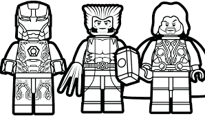 marvel superheroes coloring pages fresh page best free of lego dc colouring full size