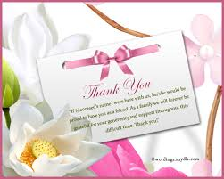 Thank You For Sympathy Card 15 Sympathy Thank You Cards Contract Template