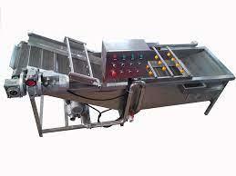 2.5m meyve sebze yıkama makinesi/otomatik sebze hava kabarcığı çamaşır  makinesi|Food Processors