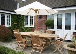 teak oval table 6 chairs set 4