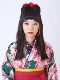 現代レトロな女学生風ネコ耳ゆめやかたbeauty 着物ヘアカタログ