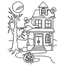 Walt disney world has an attraction by the name of haunted mansion. Top 25 Free Printable Haunted House Coloring Pages Online