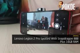 Lenovo Legion 2 Pro Spotted With ...