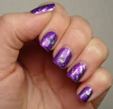 Look Gorgeous By Trying These 14 Purple Acrylic Nail Designs ...