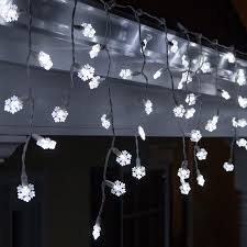 70 light snowflake icicle led light