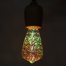 220v E27 85 265v 3d Fireworks Led Lamp Decorative Restaurant Pub Bar