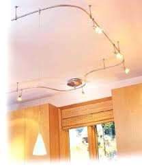 full image for track lighting with pendants and spots flexible track lighting kits with pendants flex