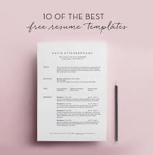 Resume Template Pinterest Simple Resume Template