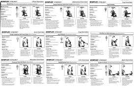 Bowflex Pr3000 Workout Chart Best Bowflex Routines The Famous 20 Minute Workout