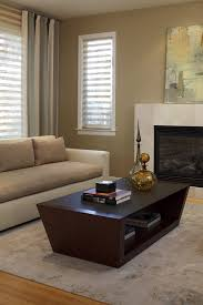san francisco travertine coffee table living room contemporary with modern area rugs grass shades
