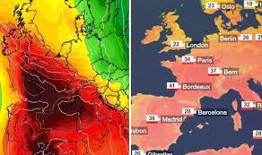 Bbc Weather Record Temperatures To Be Broken As Europe Hits