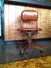 leather antique wood office chair leather antique. Antique Leather And Metal Desk Chair In Fair Condition. Wood Office F