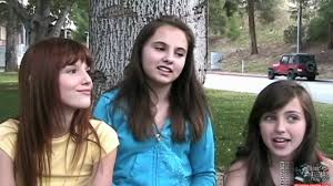 Bella Thorne, Adair Tishler & Ryan Newman Interview - YouTube