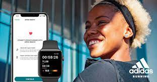 apple watch app with adidas running