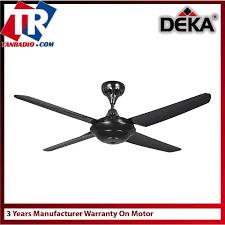 kronos 56 ceiling fan with remote control black
