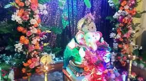 creative ganesh chaturthi home decoration with making 2016 youtube