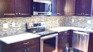 purple backsplash purple kitchen cherry cabinets mosaic traditional kitchen purple glass tile kitchen purple kitchen backsplash