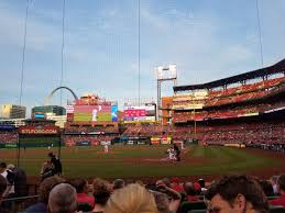 First Time In The Green Seats Busch Stadium Cardinals Club