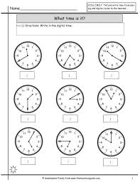 Amazing Clock Craft Assemble A And An Worksheets For Kids Telling ...