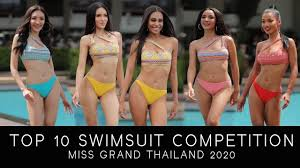 Top 10 | Swimsuit Competition | Miss Grand Thailand 2020 - YouTube