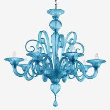 paste suso chandelier murano glchandeliers turquoise glchandelier