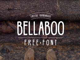 hipster script font free hipster free font bellaboo by free goodies for designers dribbble