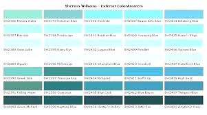 Shades Of Blue Paint Color Chart Lowes Paint Color Chart