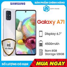 Chỉ 7,890,000đ - Điện thoại Samsung Galaxy A71 - Hàng chính hãng