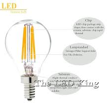 dimmable led chandelier bulbs led filament glass candle light bulb vintage dimmable led candelabra bulbs 100w