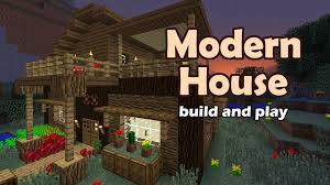 minecraft modern house tutorial you