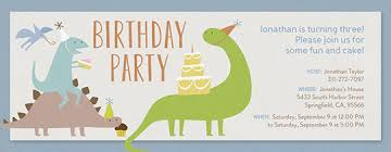free dinosaur party invitations free birthday invitations send online or by text evite