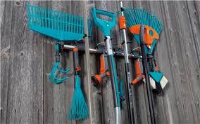 gardena garden tools tool rack