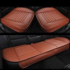 pad bamboo charcoal filled pu leather cars seat covers black universal car styling seat protector cushions camo seat covers for trucks camo truck seat