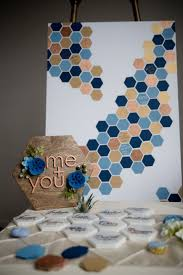 Hexagon Seating Chart Geometric Shapes Geode Details Styled Shoot Wedding