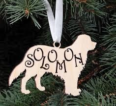 Christbaumschmuck Holz Hund Mit Namen Golden Retriever Hund Silhouette Geschenke Für Hundeliebhaber Kundenspezifische Hunde Weihnachtsgeschenk