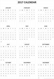 one page calender 2017 calendar printable one page template to print