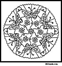 Small Picture 92 best Art Mandala Coloring Pages images on Pinterest